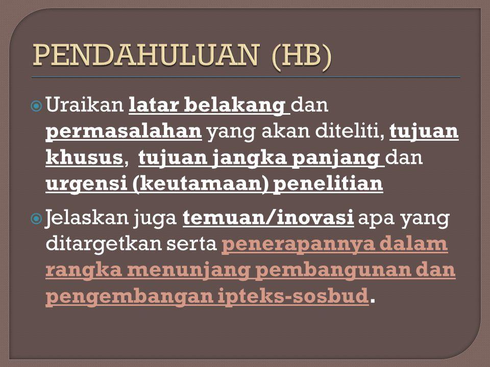 PENDAHULUAN (HB)