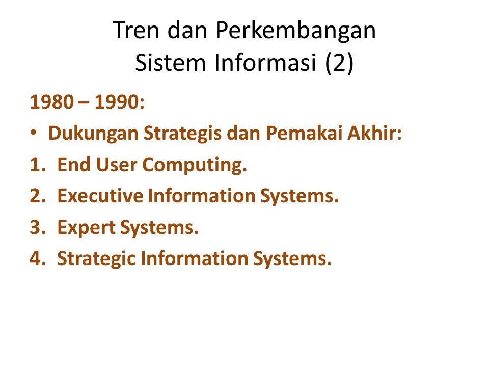 Tren dan Perkembangan Sistem Informasi (2)