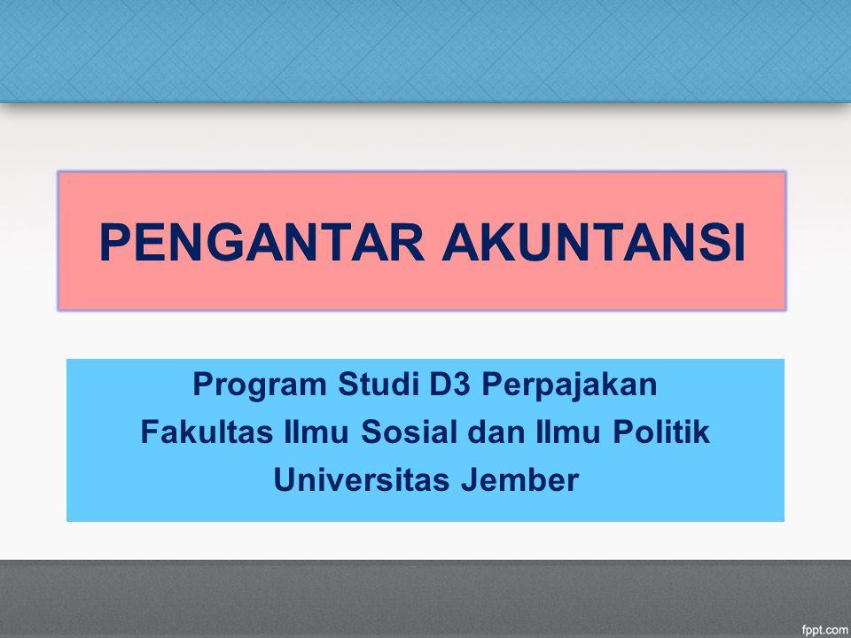 Program Studi D3 Perpajakan Fakultas Ilmu Sosial dan Ilmu Politik