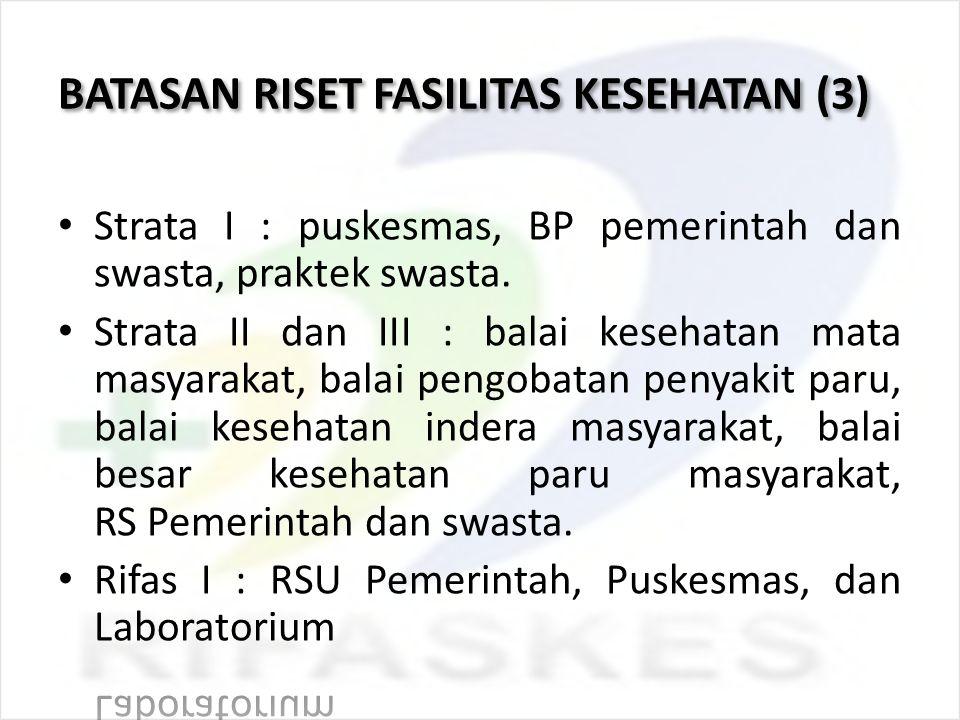 BATASAN RISET FASILITAS KESEHATAN (3)