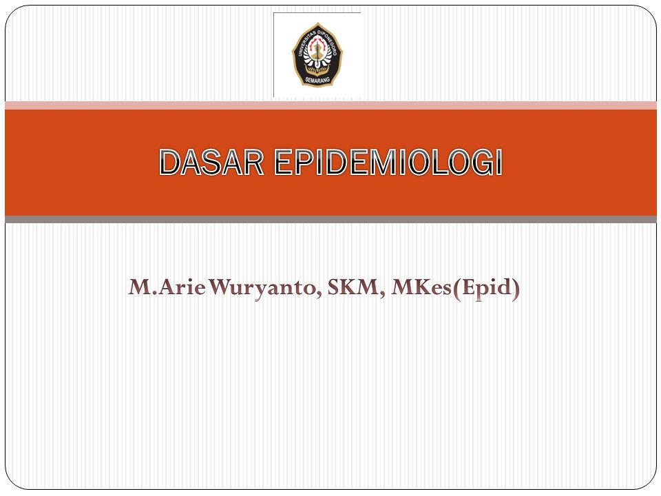 M.Arie Wuryanto, SKM, MKes(Epid)
