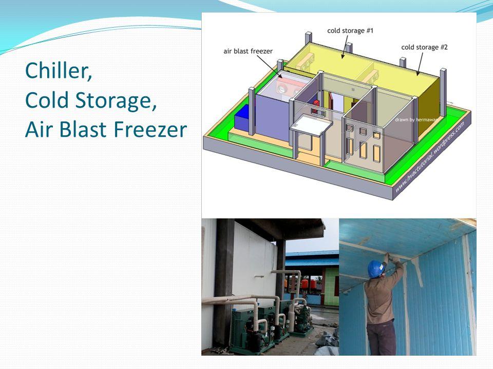 Chiller, Cold Storage, Air Blast Freezer