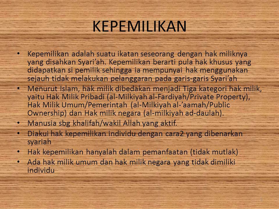 KEPEMILIKAN