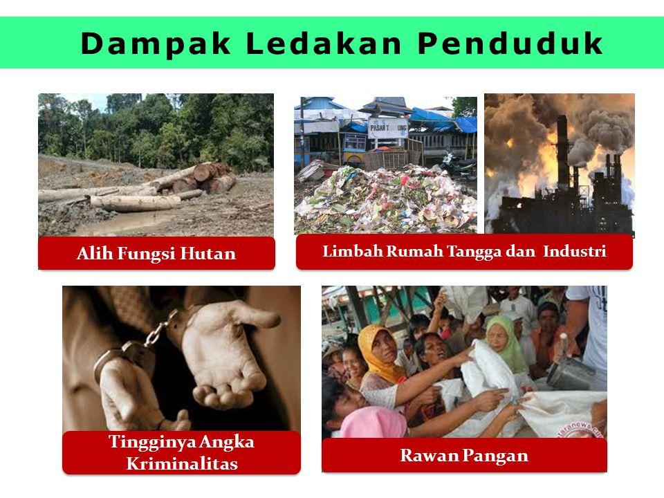 Dampak Ledakan Penduduk