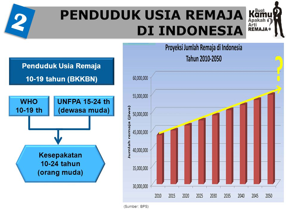 PENDUDUK USIA REMAJA DI INDONESIA