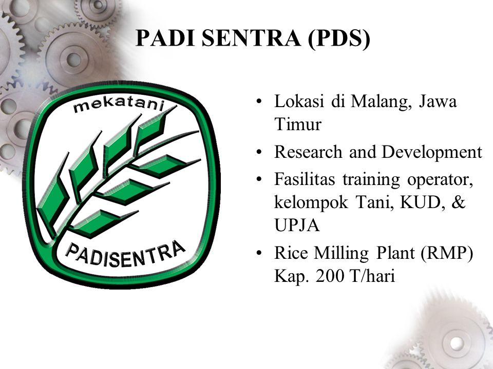 PADI SENTRA (PDS) Lokasi di Malang, Jawa Timur
