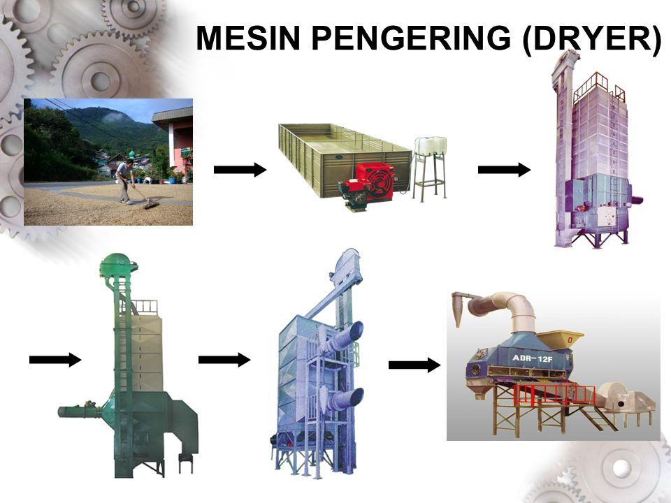 MESIN PENGERING (DRYER)