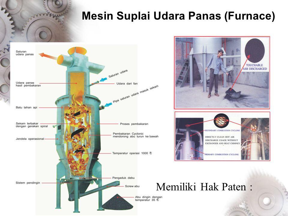 Mesin Suplai Udara Panas (Furnace)