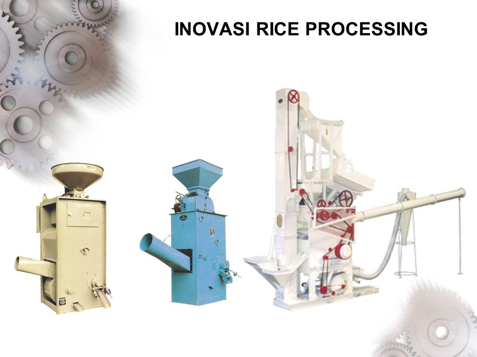 INOVASI RICE PROCESSING