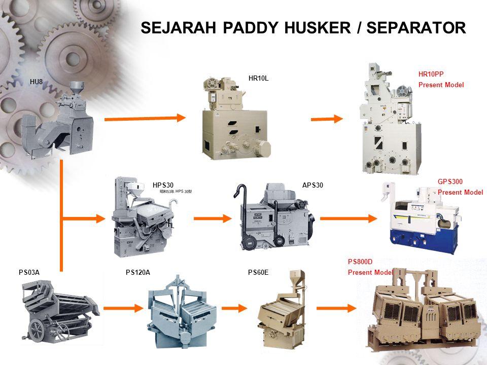 SEJARAH PADDY HUSKER / SEPARATOR