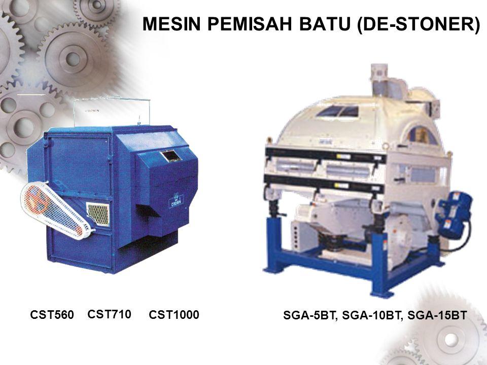 MESIN PEMISAH BATU (DE-STONER)