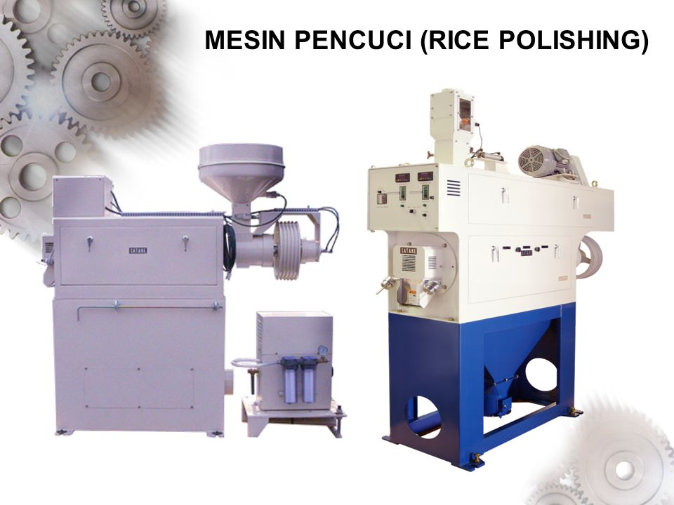 MESIN PENCUCI (RICE POLISHING)