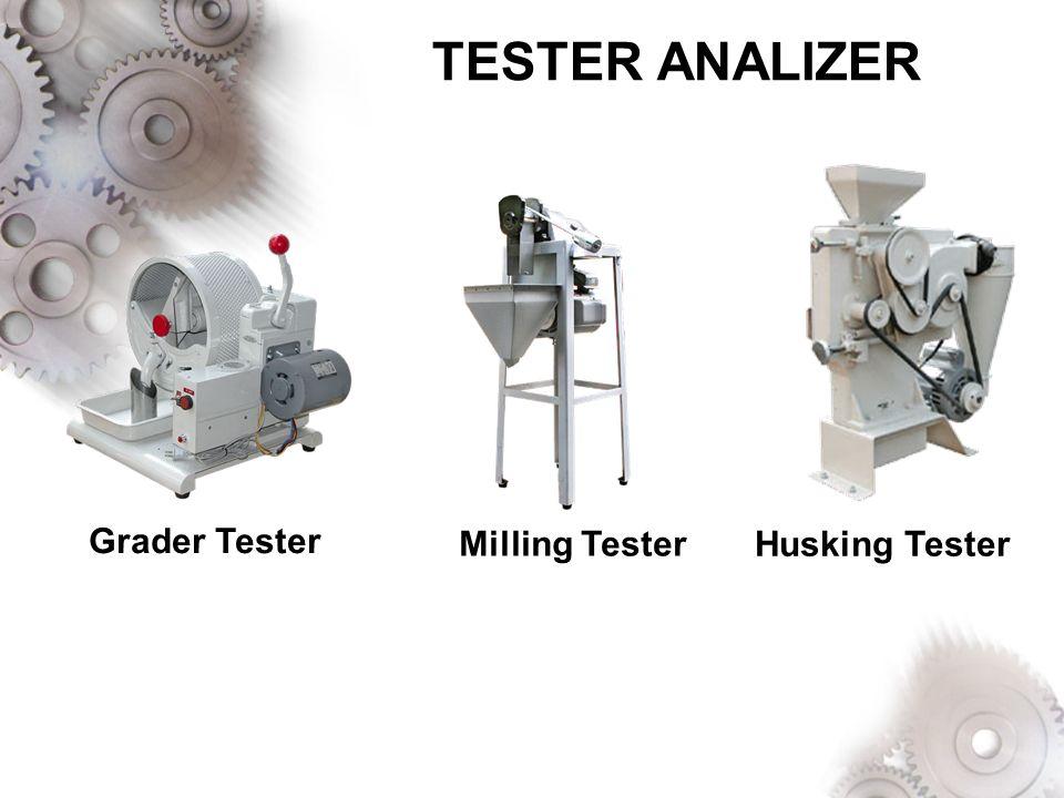 TESTER ANALIZER Grader Tester Milling Tester Husking Tester