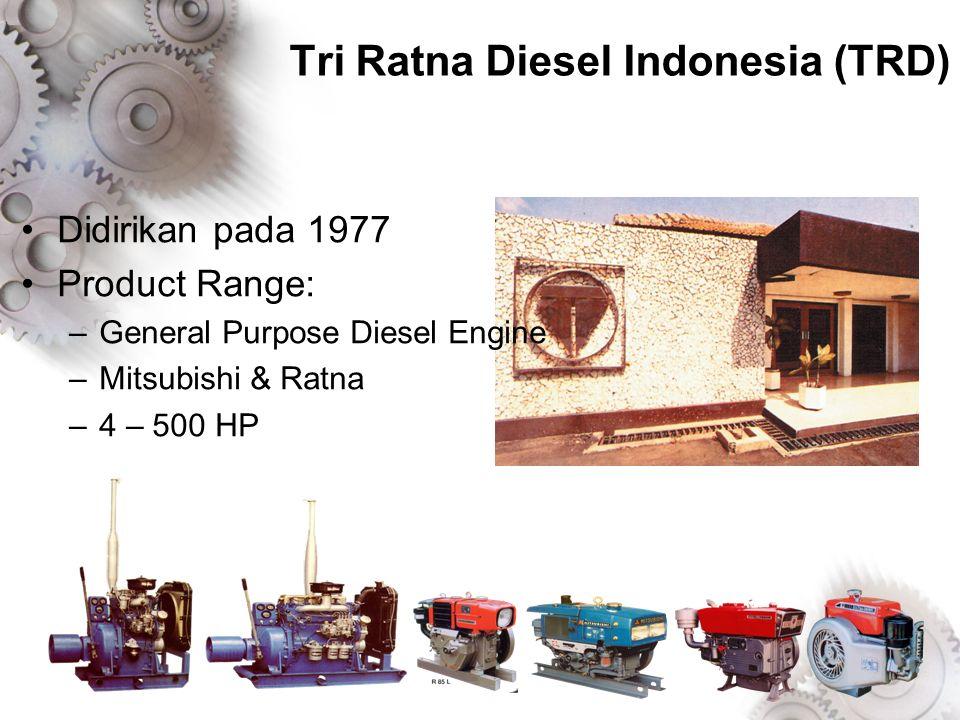 Tri Ratna Diesel Indonesia (TRD)