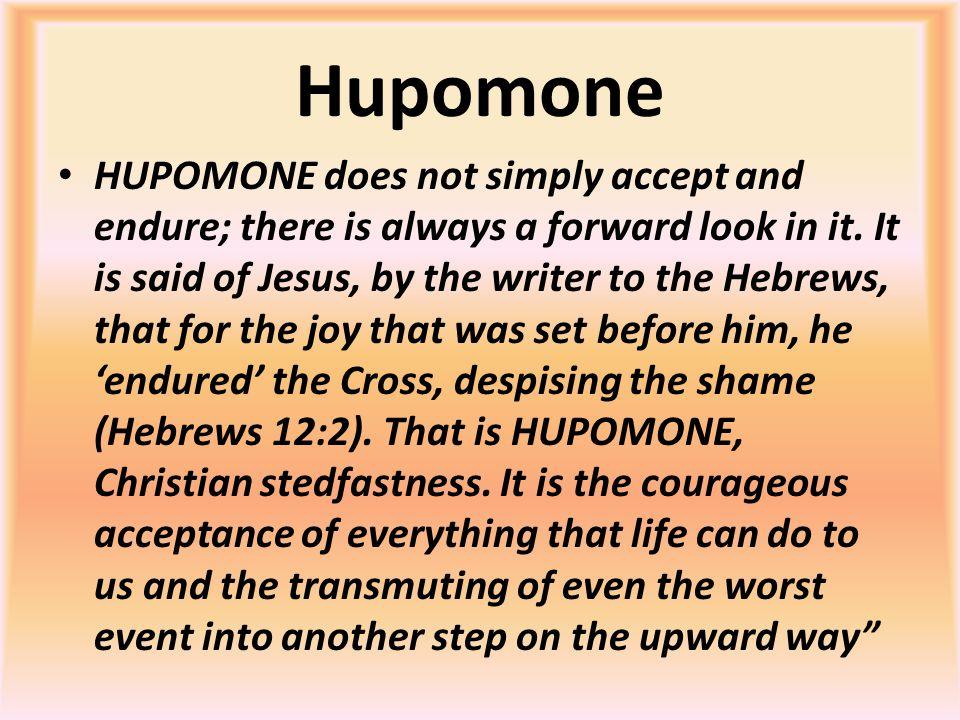 Hupomone