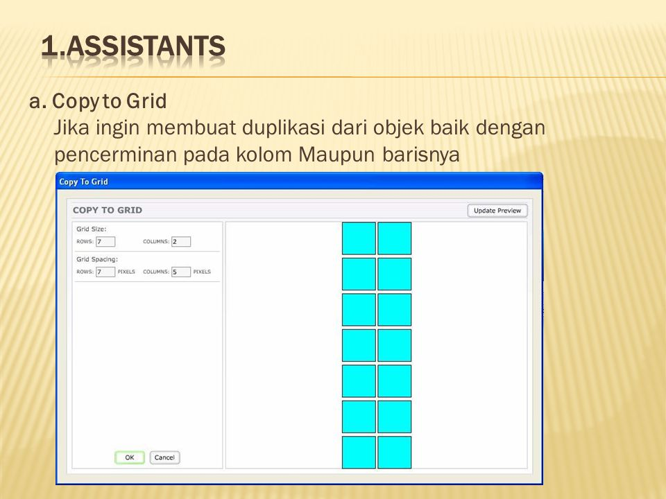 1.Assistants a.