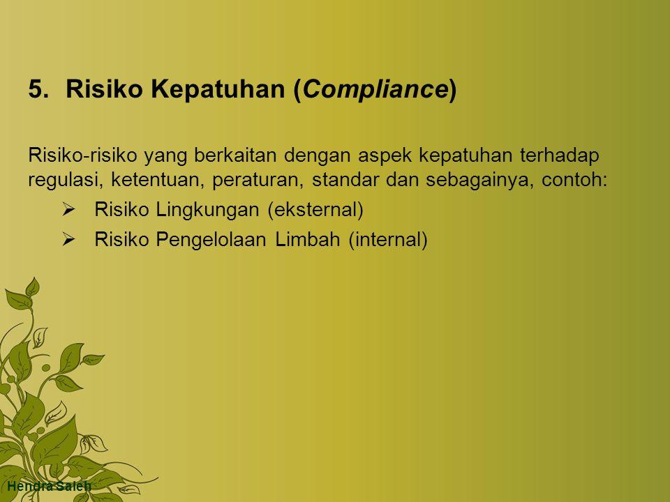 5. Risiko Kepatuhan (Compliance)