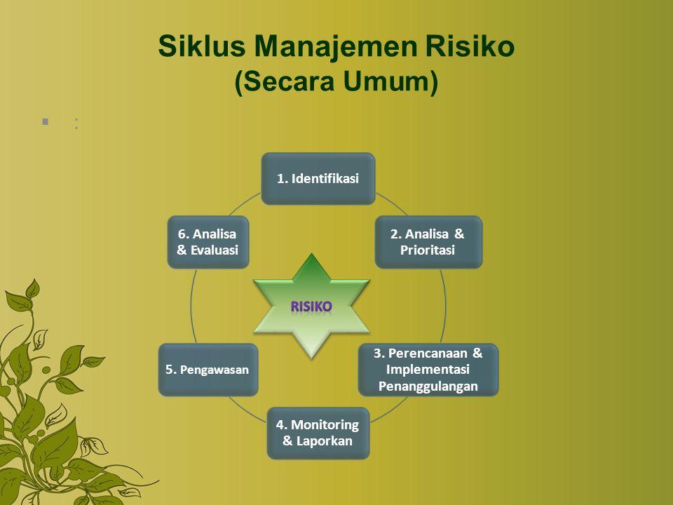 Siklus Manajemen Risiko