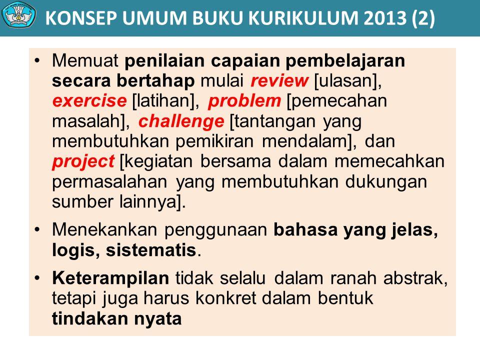 KONSEP UMUM BUKU KURIKULUM 2013 (2)
