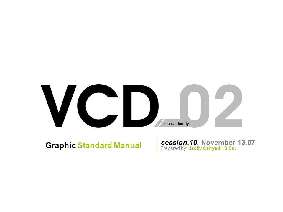 Graphic Standard Manual