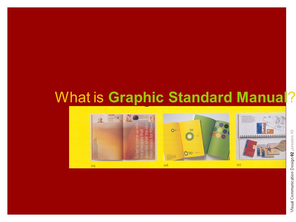 What is Graphic Standard Manual