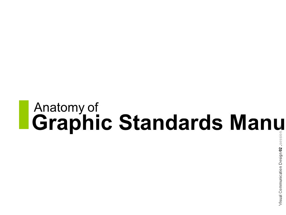 Graphic Standards Manual