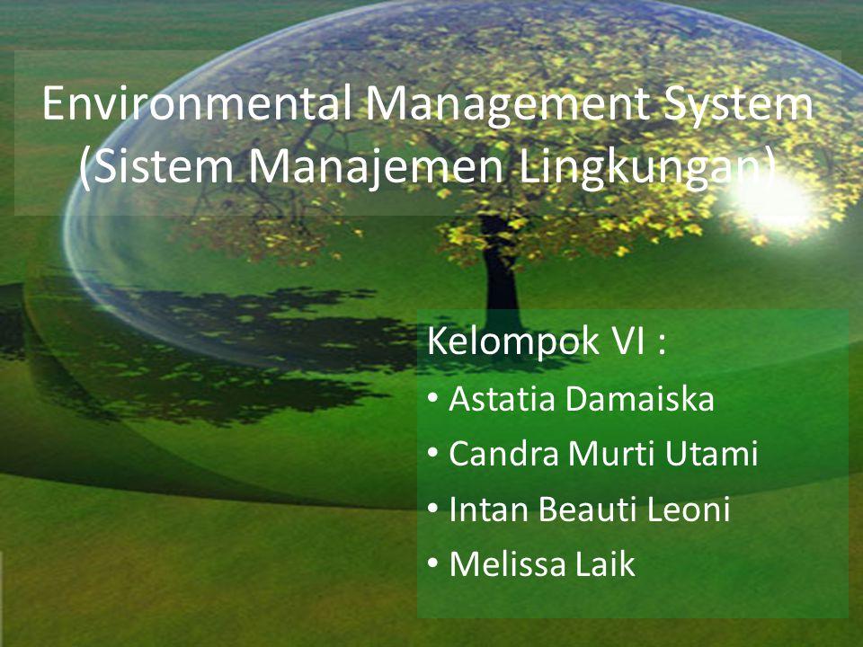 Environmental Management System (Sistem Manajemen Lingkungan)