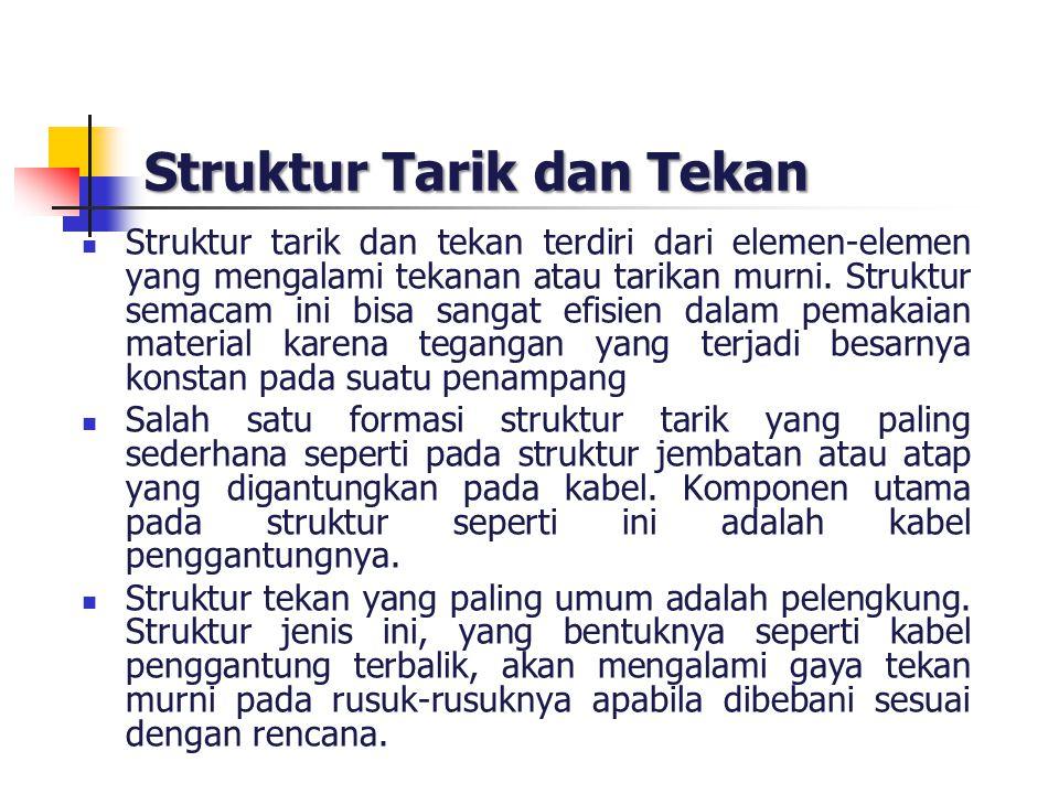 Struktur Tarik dan Tekan