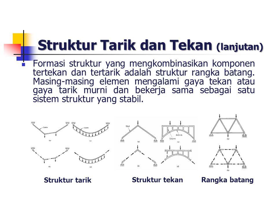 Struktur Tarik dan Tekan (lanjutan)