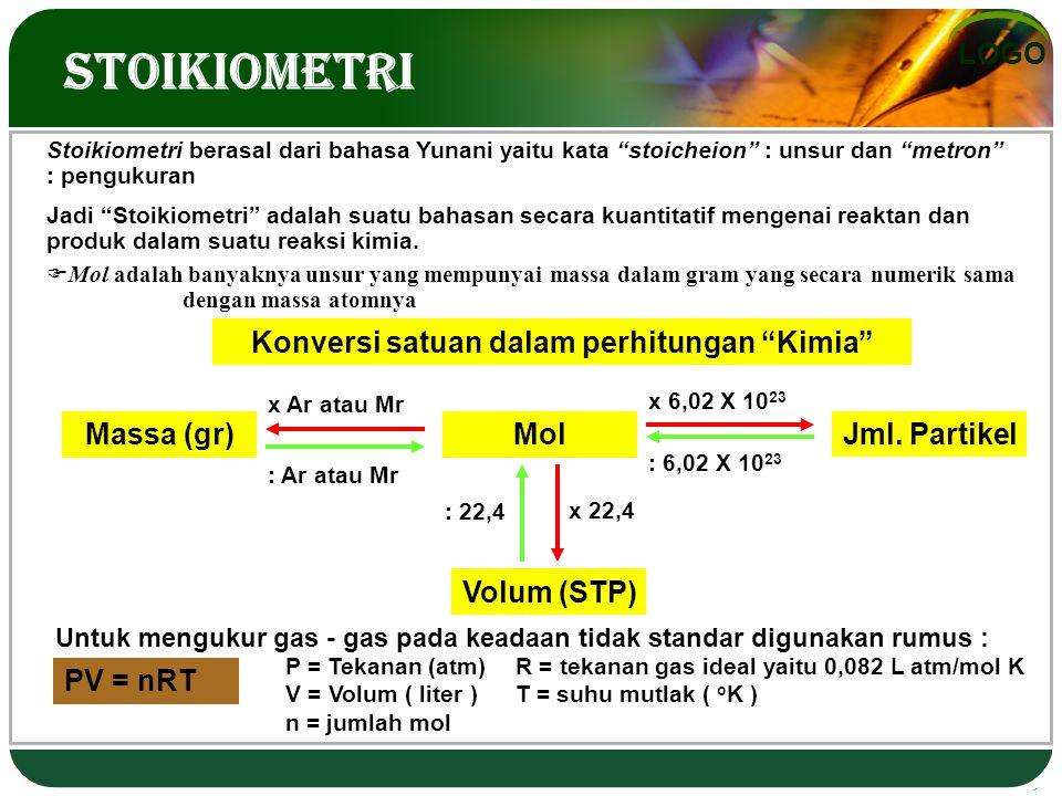 Konversi satuan dalam perhitungan Kimia