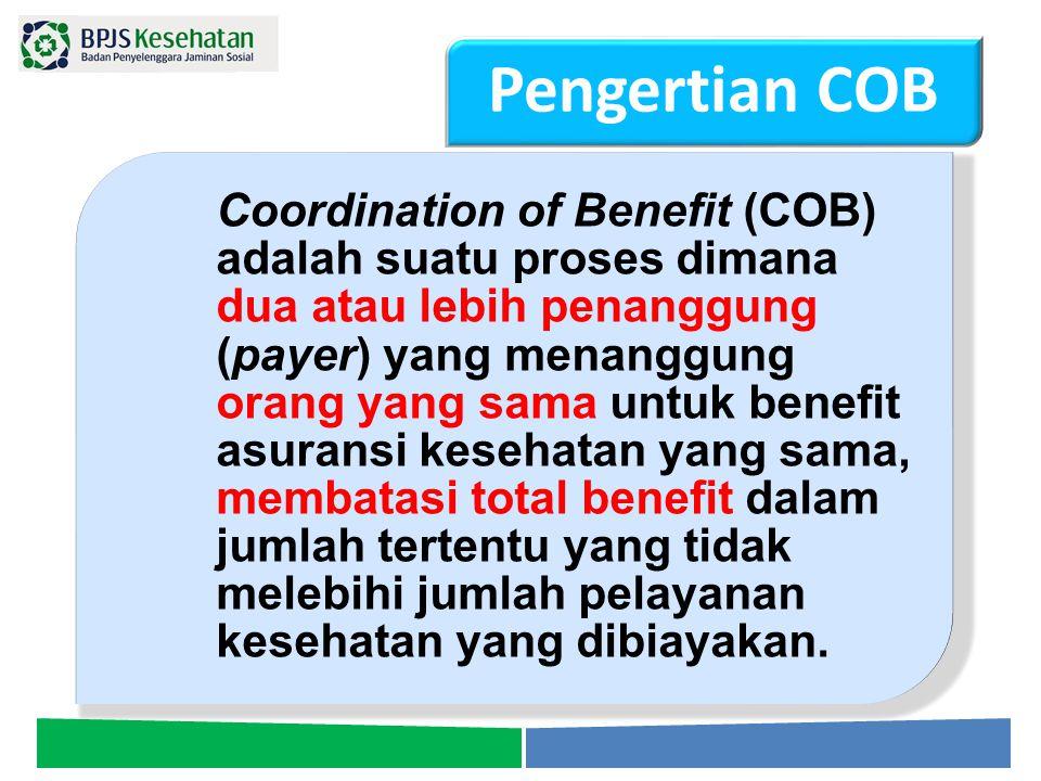 Pengertian COB RPerpres tentang Besaran Iuran  on process