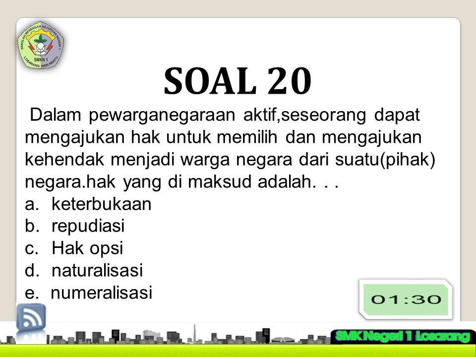SOAL 20