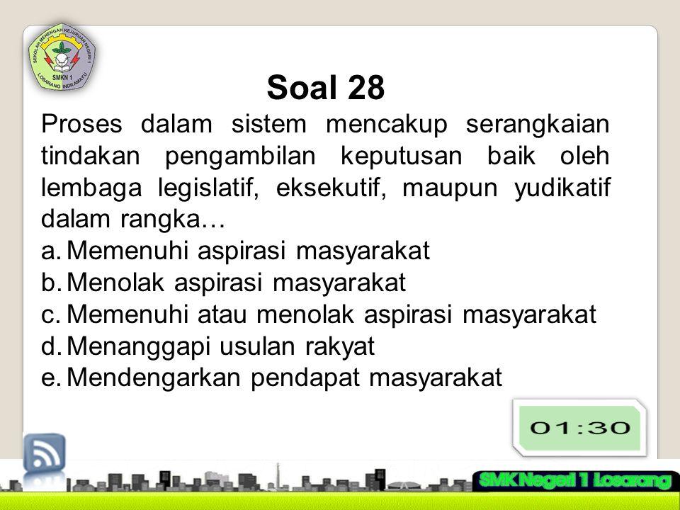 Soal 28