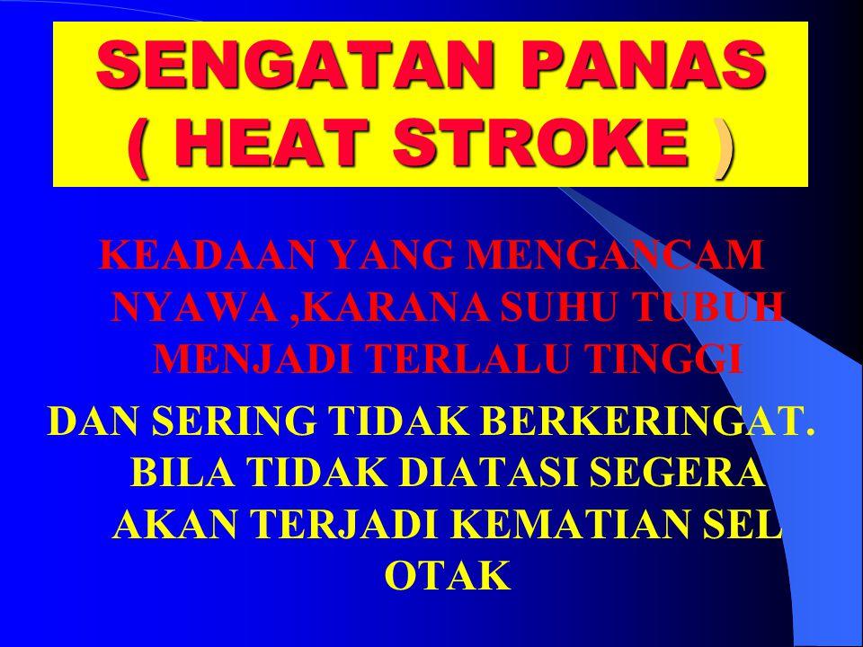SENGATAN PANAS ( HEAT STROKE )