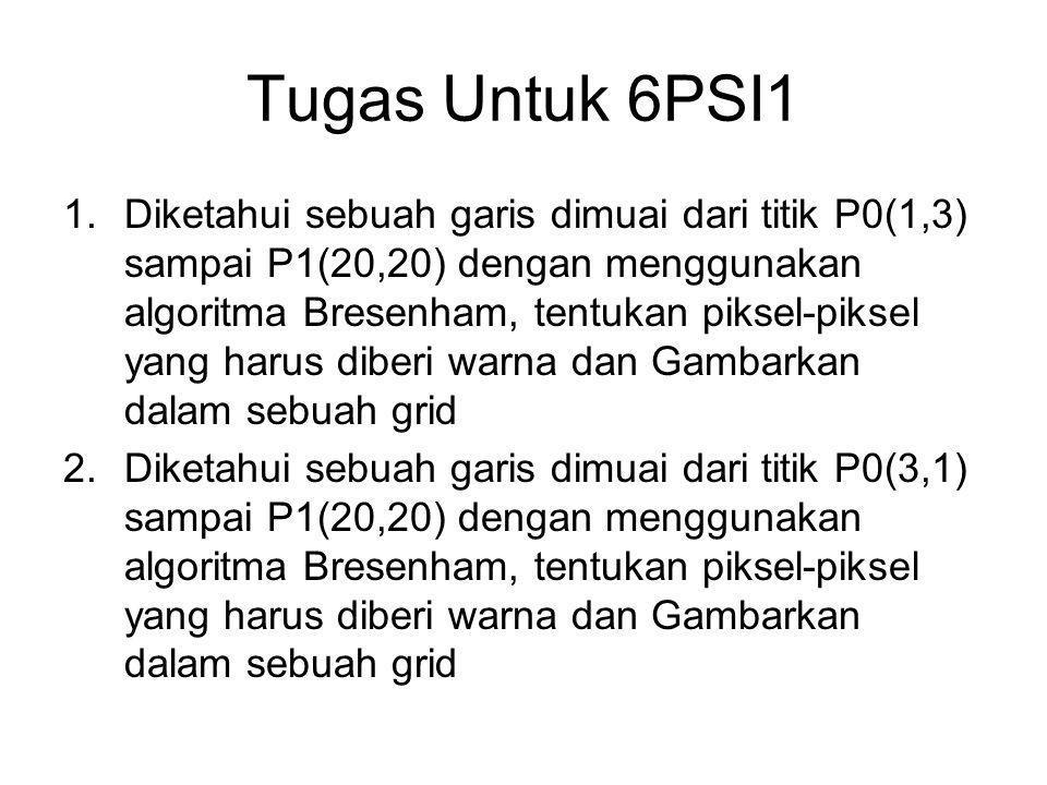 Tugas Untuk 6PSI1