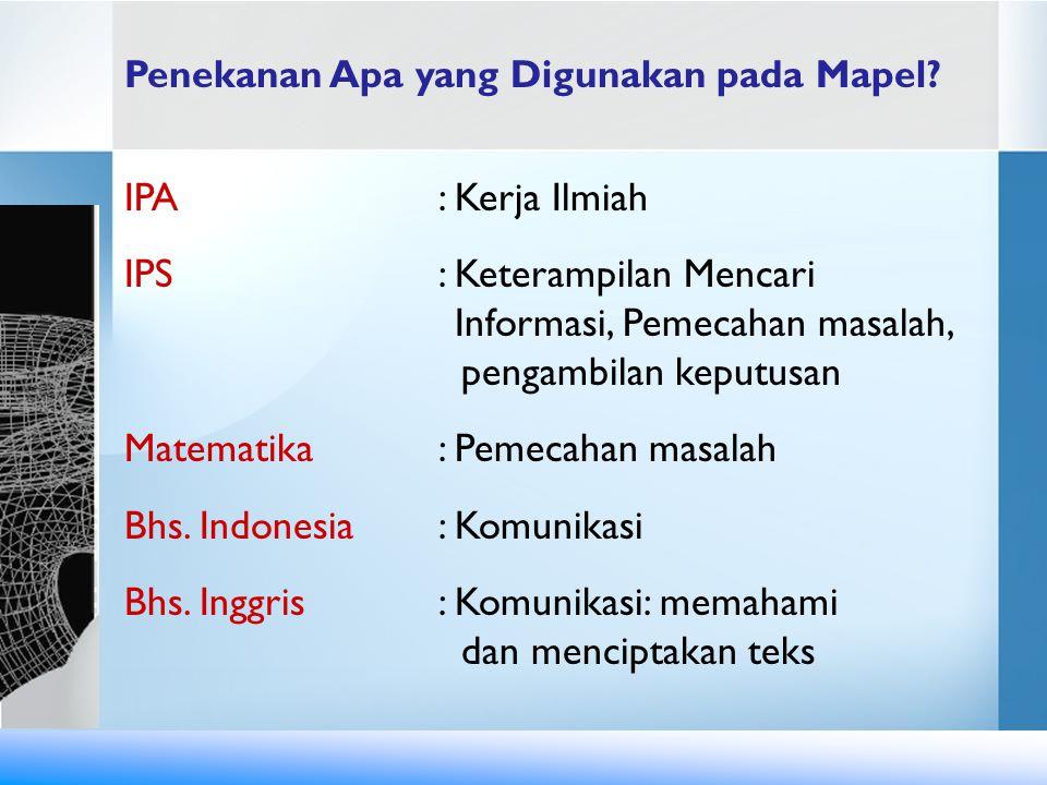 IPS : Keterampilan Mencari Informasi, Pemecahan masalah,