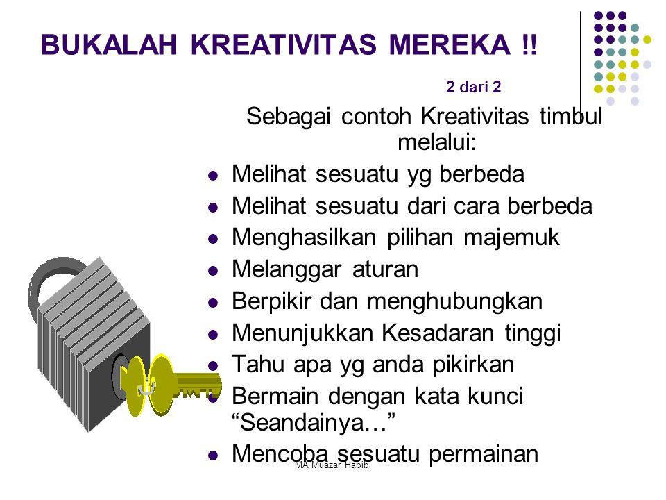 BUKALAH KREATIVITAS MEREKA !! 2 dari 2