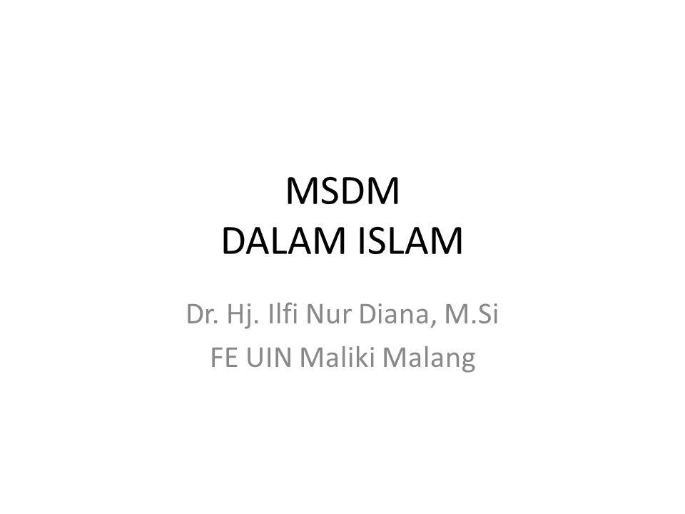 Dr. Hj. Ilfi Nur Diana, M.Si FE UIN Maliki Malang