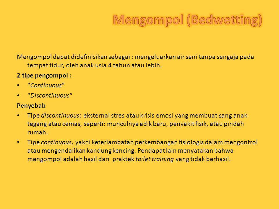 Mengompol (Bedwetting)