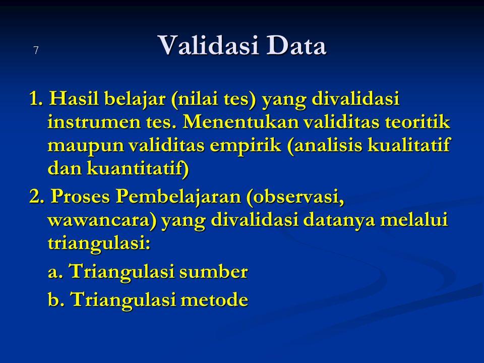 Validasi Data 7.