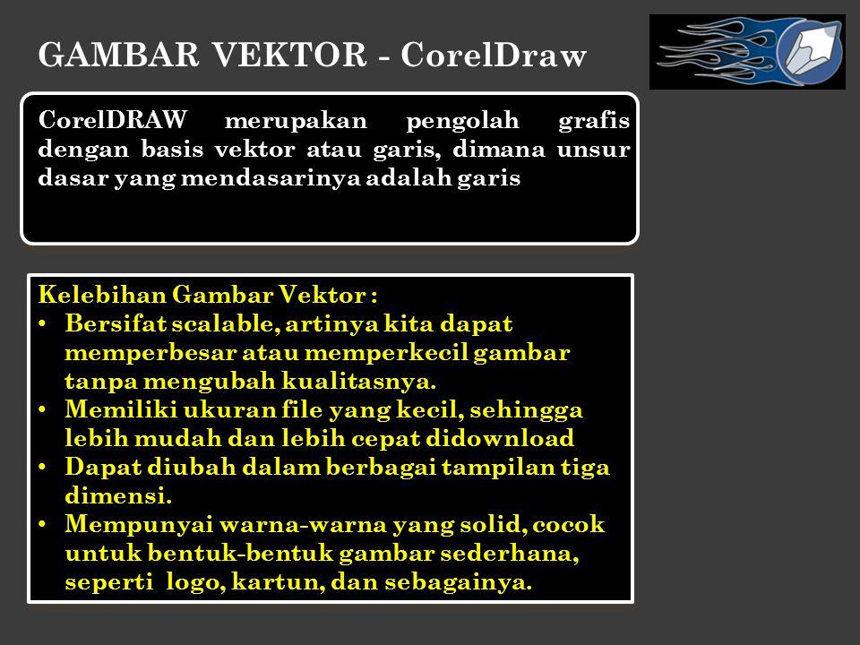 GAMBAR VEKTOR - CorelDraw