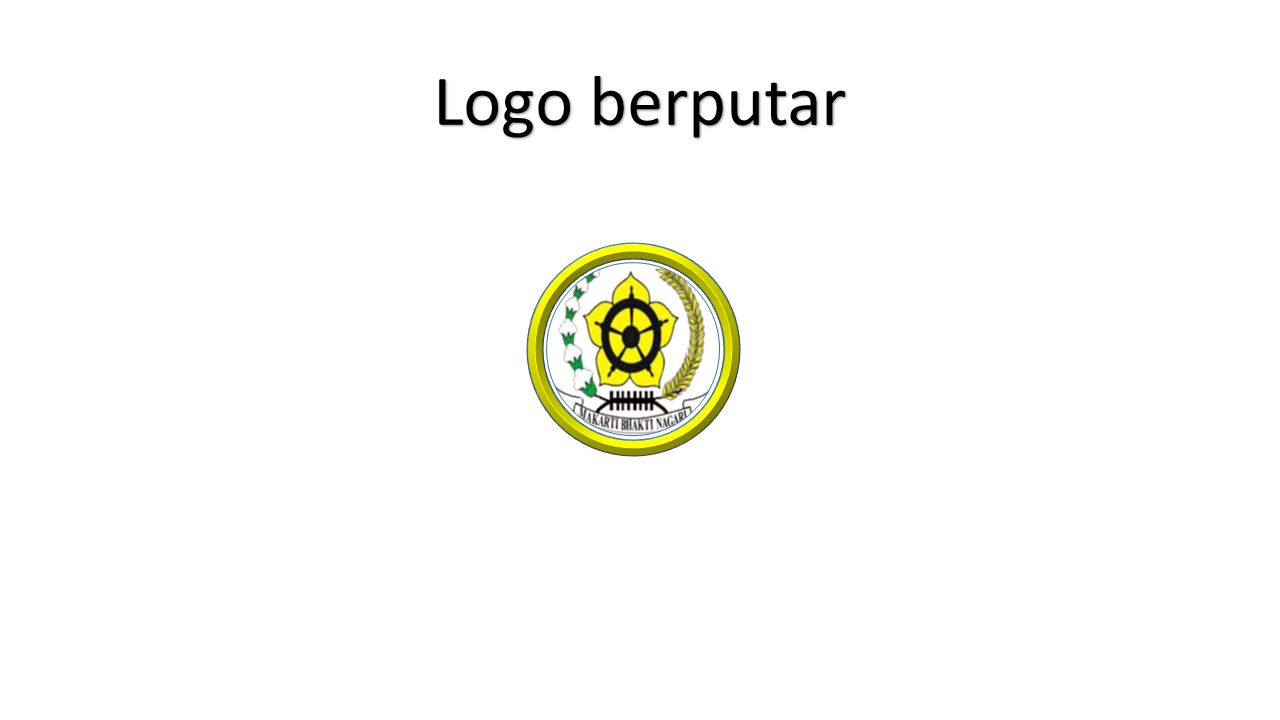 Logo berputar