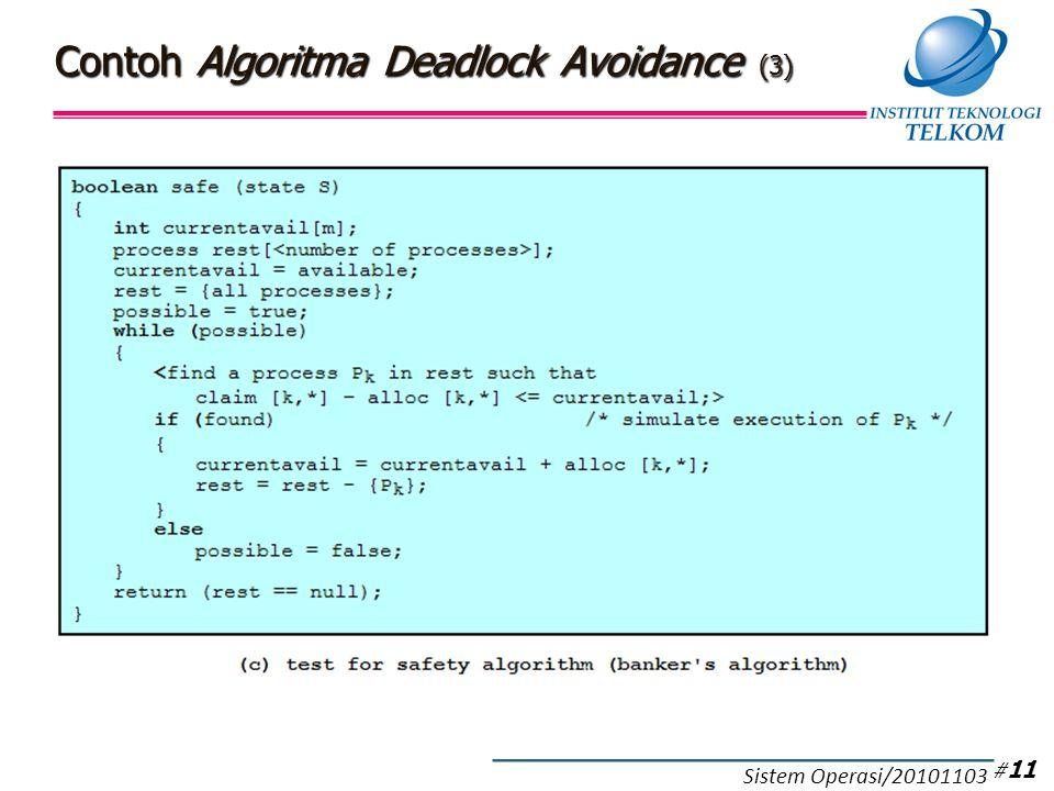 Kelebihan-Kekurangan Deadlock Avoidance