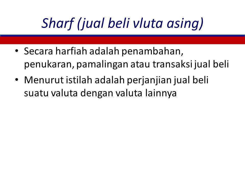 Sharf (jual beli vluta asing)