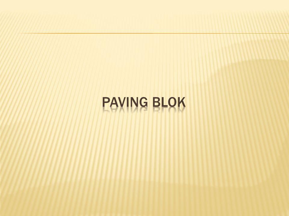 PAVING BLOK