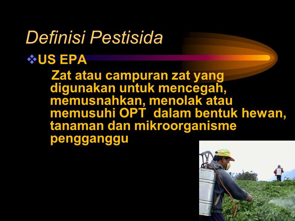 Definisi Pestisida US EPA