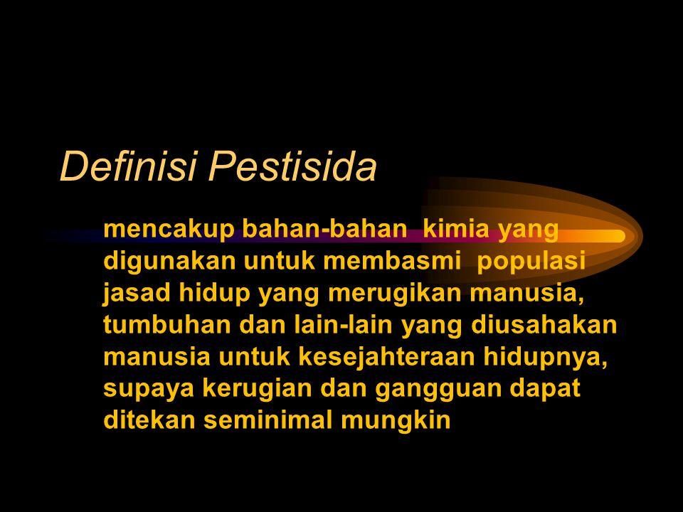 Definisi Pestisida