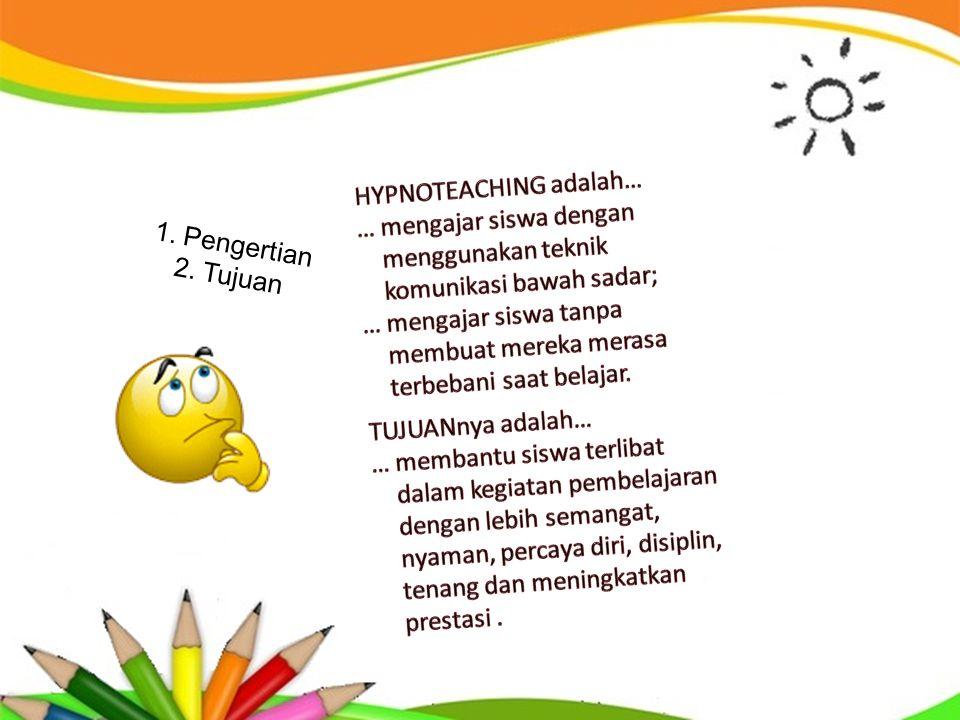 HYPNOTEACHING adalah…