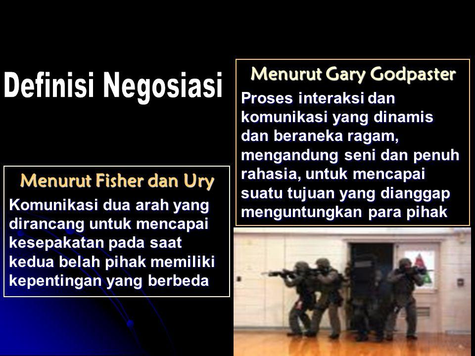 Menurut Gary Godpaster
