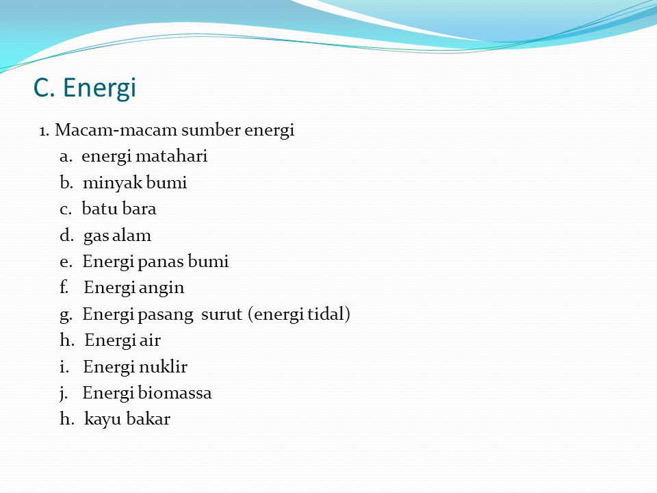 C. Energi